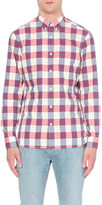 Burberry Checked regular-fit cotton shirt