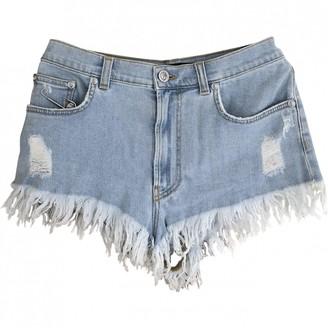 Versus Blue Denim - Jeans Shorts for Women