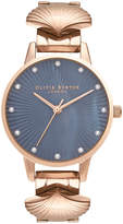 Olivia Burton Women's The Mermaid Watch - Rose Gold