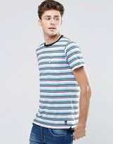French Connection Crew Neck Striped T-Shirt with Pocket