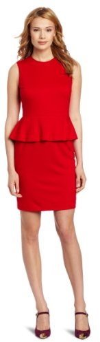 Vince Camuto Women's Peplum Sheath Dress