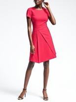 Banana Republic Wrap-Effect Dress
