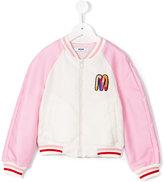 MSGM zipped bomber jacket - kids - Polyester - 8 yrs