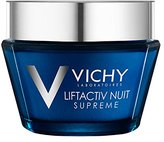 Vichy LiftActiv Night Supreme Anti-Wrinkle and Firming Night Cream, 1.69 Fl. Oz.