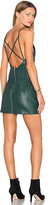 NBD x Naven Twins Don't Cross Me Dress in Dark Green. - size L (also in M,S,XL,XS)