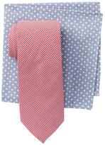 Alara Bowery Mini Gingham Tie & Pocket Square Box Set