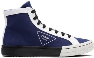 Prada high-top Wheel sneakers