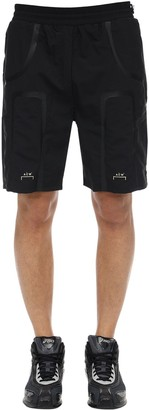 A-Cold-Wall* Logo Print Taped Nylon Track Shorts