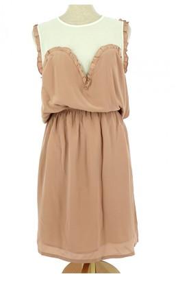 Bel Air Pink Silk Dress for Women