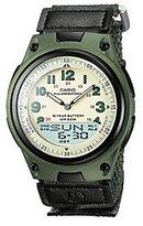 Casio Men's World Time Ana-Digi Green Watch