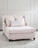 Haute House Bella Blush Tufted Back Chaise