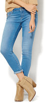 New York & Co. Soho Jeans - Ankle SuperStretch Legging - Blue Ultra Wash