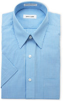 Pierre Cardin Gingham Dress Shirt - Regular Fit