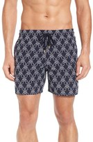 Vilebrequin Men's Seahorse Embroidered Swim Trunks