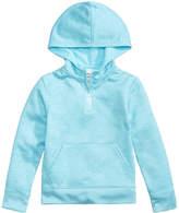 Champion Quarter-Zip Hooded Sweatshirt, Little Girls (4-6X)