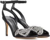 Isabel Marant Abelly embellished suede sandals