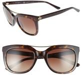 Tory Burch Women's 53Mm Gradient Polarized Sunglasses - Dark Tortoise
