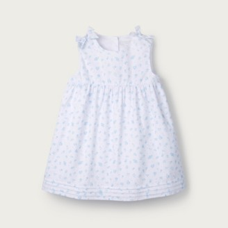 The White Company Floral Bow-Shoulder Dress, Multi, 12-18mths