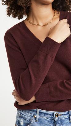 Vince Weekend V Neck Cashmere Sweater