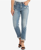 Silver Jeans Co. The Mom Ripped High-Rise Jeans