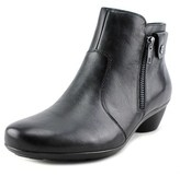 Naturalizer Haley Round Toe Leather Bootie.