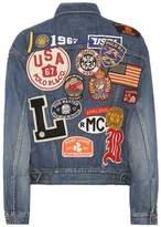 Polo Ralph Lauren Appliquéd denim jacket