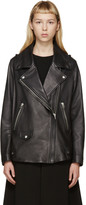 Acne Studios Black Leather Swift Jacket