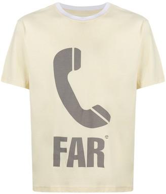 Telfar phone print T-shirt