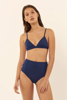 Mara Hoffman Criss Cross High Waisted Bikini Bottom