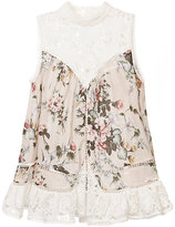 Zimmermann Aerial Sleeveless Smock Top