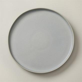 Oui Set Of 4 Organic Stoneware Dinner Plates Light Blue
