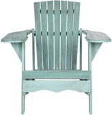 The Well Appointed House Wide Arm Rest Outdoor Adirondack Chair in Beach House Blue Finish - CURRENTLY ON BACKORDER UNTIL MID OF FEBRUARY 2017