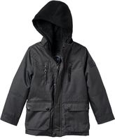 Urban Republic Toddler Boy Ballistic Hooded Sherpa-Lined Midweight Jacket