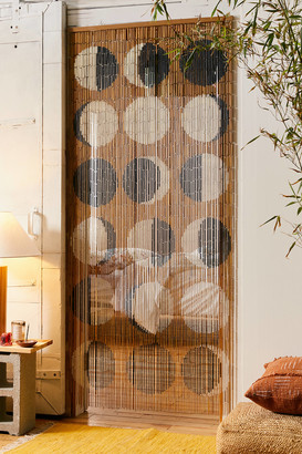 Moon Phases Bamboo Beaded Curtain