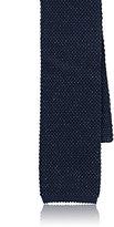 Isaia Men's Silk-Linen Knit Necktie