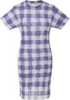 The Elder Statesman Printed Cotton Mini Dress