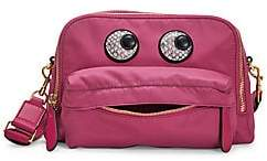Anya Hindmarch Women's Eyes Nylon Crossbody Bag