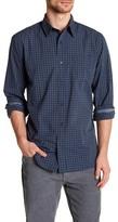 Joe Fresh Regular Fit Long Sleeve Plaid Button Down Shirt