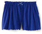 Classic Girls Solid Knit Culotte Shorts-Cobalt