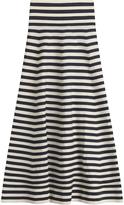 Sonia Rykiel Striped Skirt with Virgin Wool
