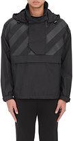 Moncler O Men's Donville Ripstop Hooded Pullover Jacket-BLACK