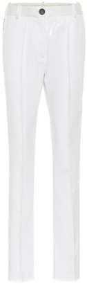 Peter Do Sequined high-rise slim pants