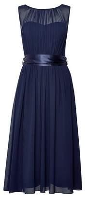 Dorothy Perkins Womens **Showcase Tall Navy Bethany Midi Dress