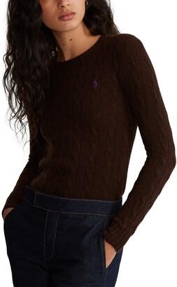 Polo Ralph Lauren Julianna Wool & Cashmere Cable Sweater