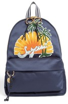 See by Chloe Andy Applique Backpack - Blue