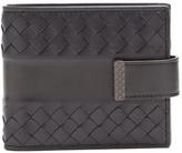 Bottega Veneta Part-intrecciato bi-fold leather wallet
