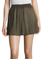 Romeo & Juliet Couture Accordion Pleated Mini Skirt