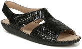 Naturalizer Scout Snakeskin Embossed Sandal - Wide Width Available