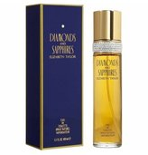 Elizabeth Taylor Diamonds and Sapphires for Women, Eau De Toilette Spray, 1.7 Ounce