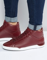 HUGO BOSS HUGO by Fusion Hi Top Sneakers